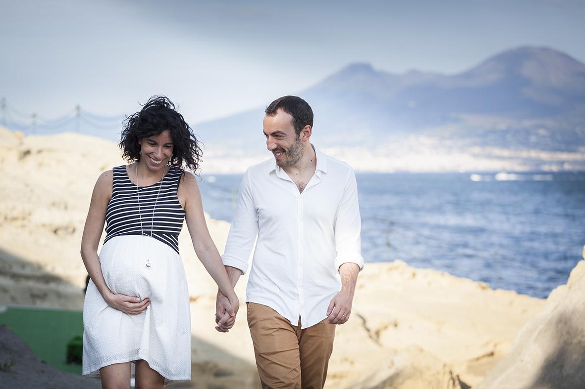 book fotografico di gravidanza napoli