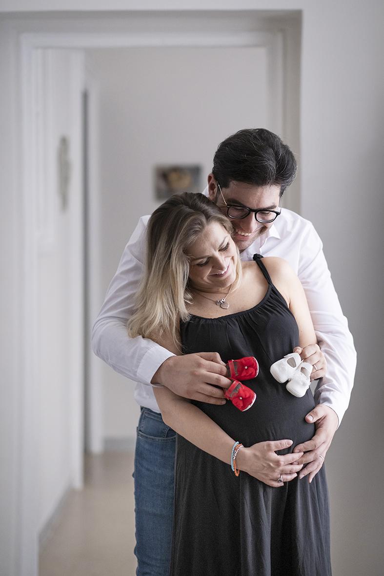 reportage fotografico di gravidanza fotografie in dolce attesa napoli