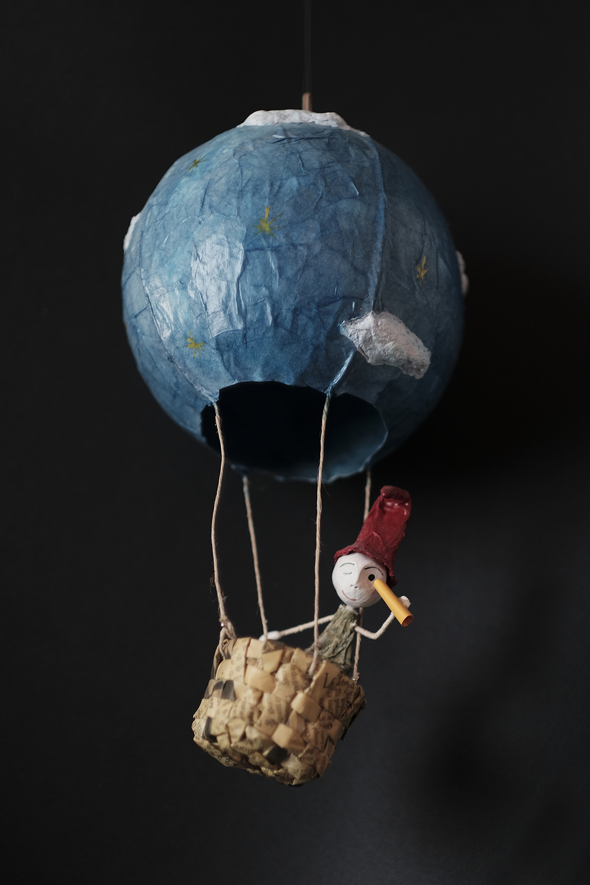 bomboniera mongolfiera per matrimonio a tema viaggio