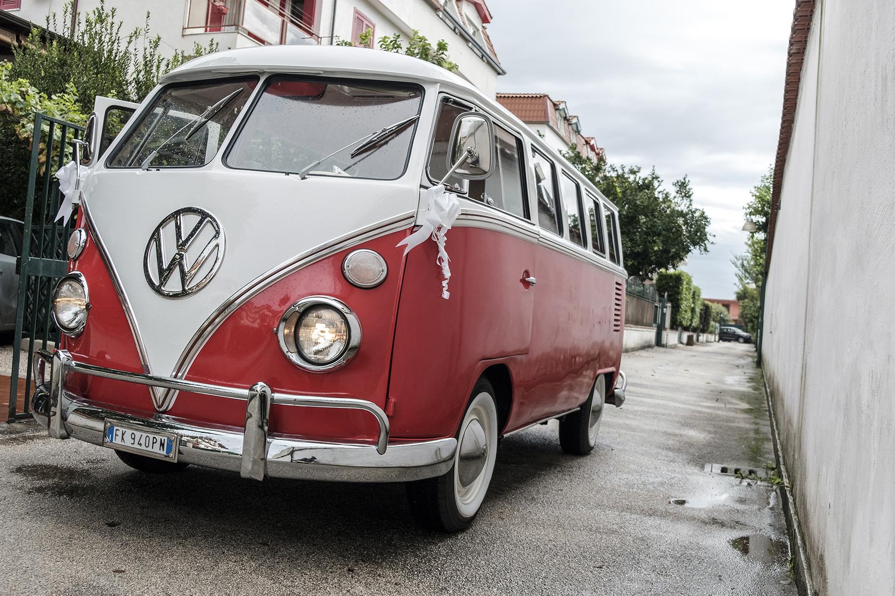 matrimonio tema vintage il pulmino volkswagen