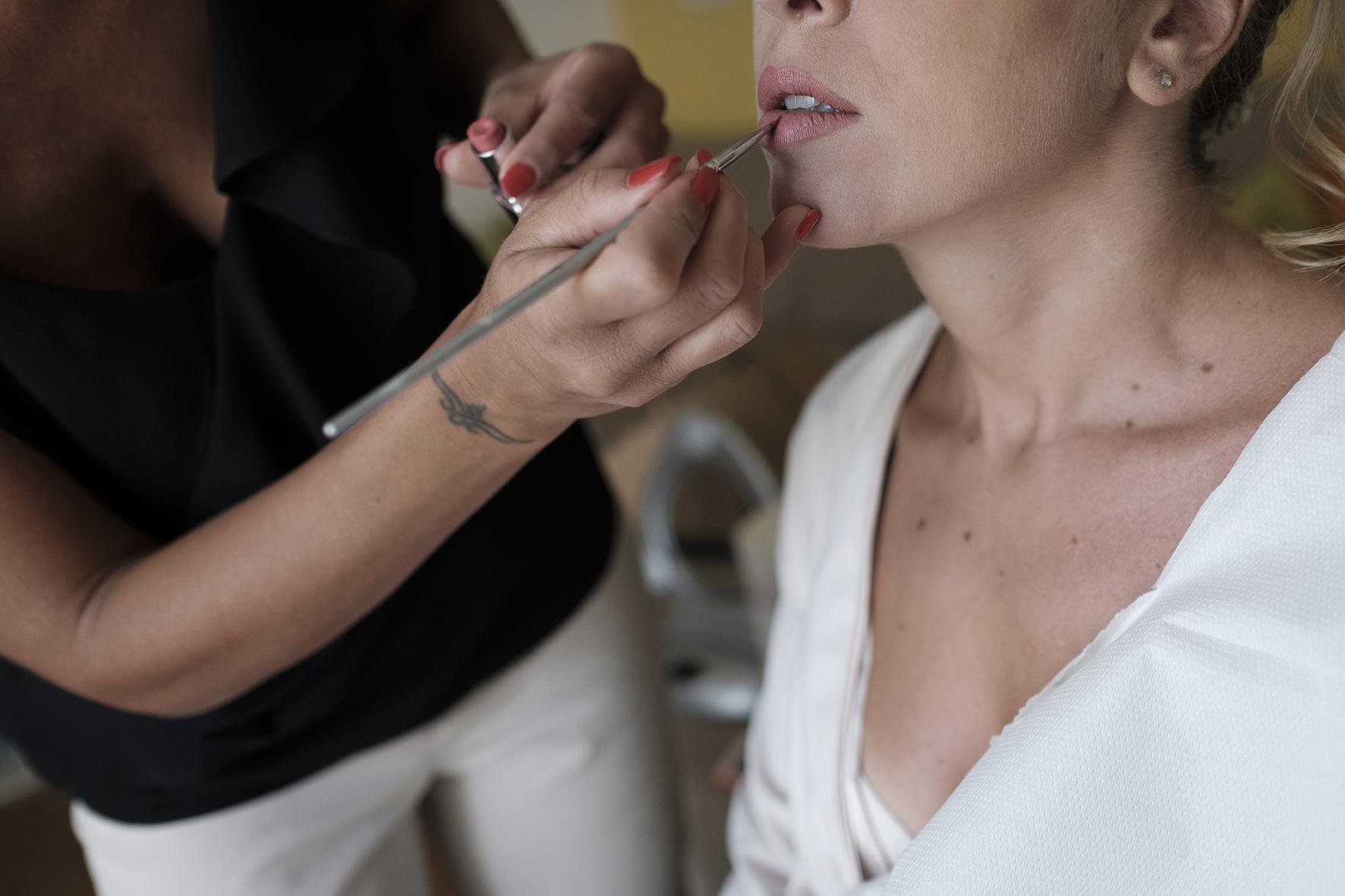 post produzione foto matrimonio trucco sposa piccoli ritocchi