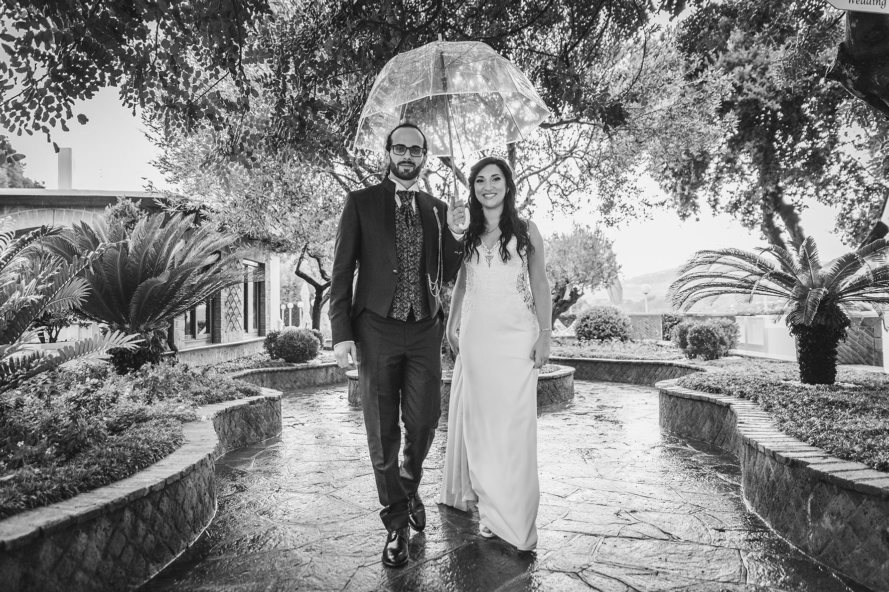 Matrimonio sotto la pioggia, come non farsi rovinare la giornata