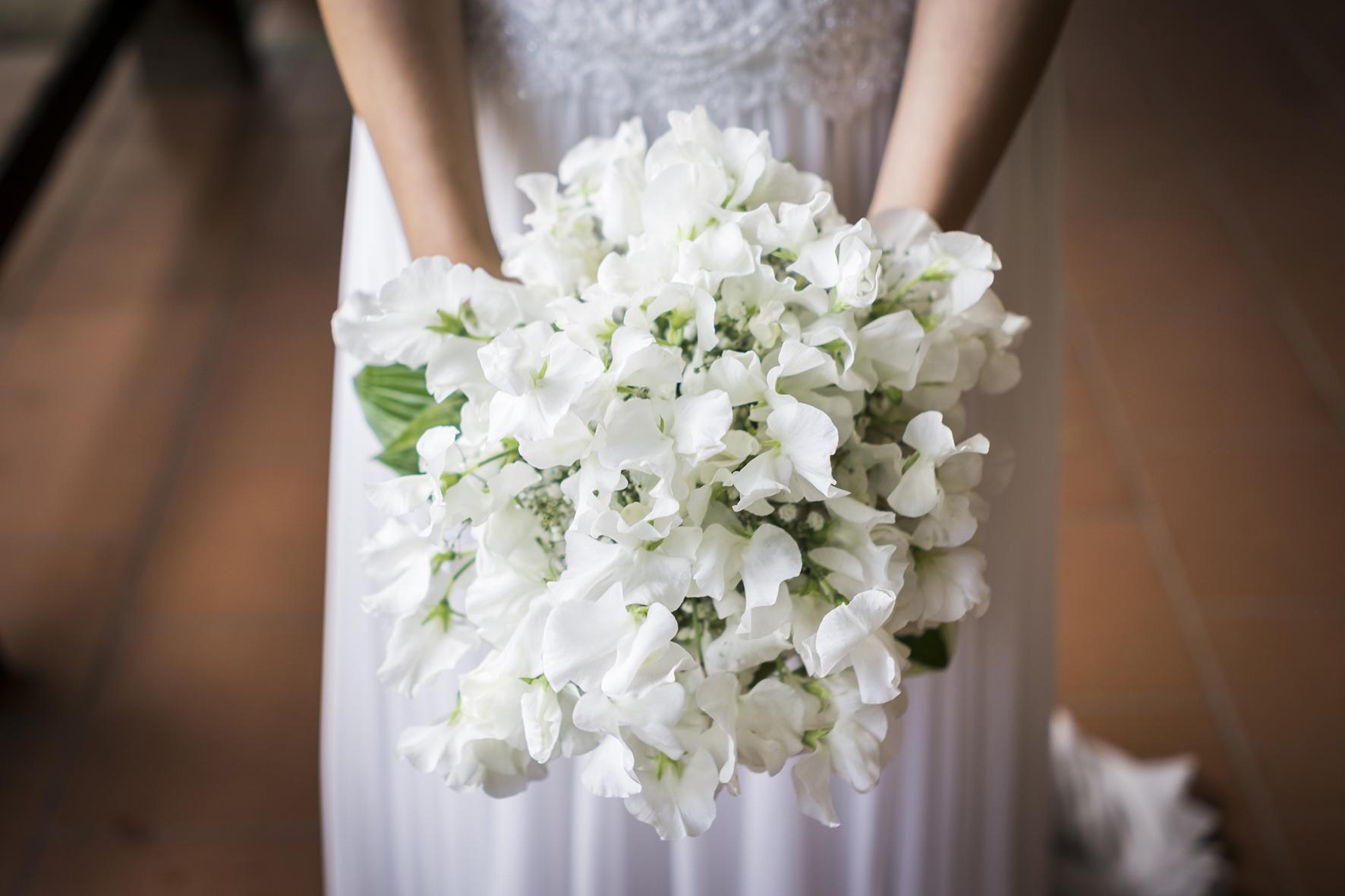 bouquet sposa fiori di stagione matrimonio ecosostenibile
