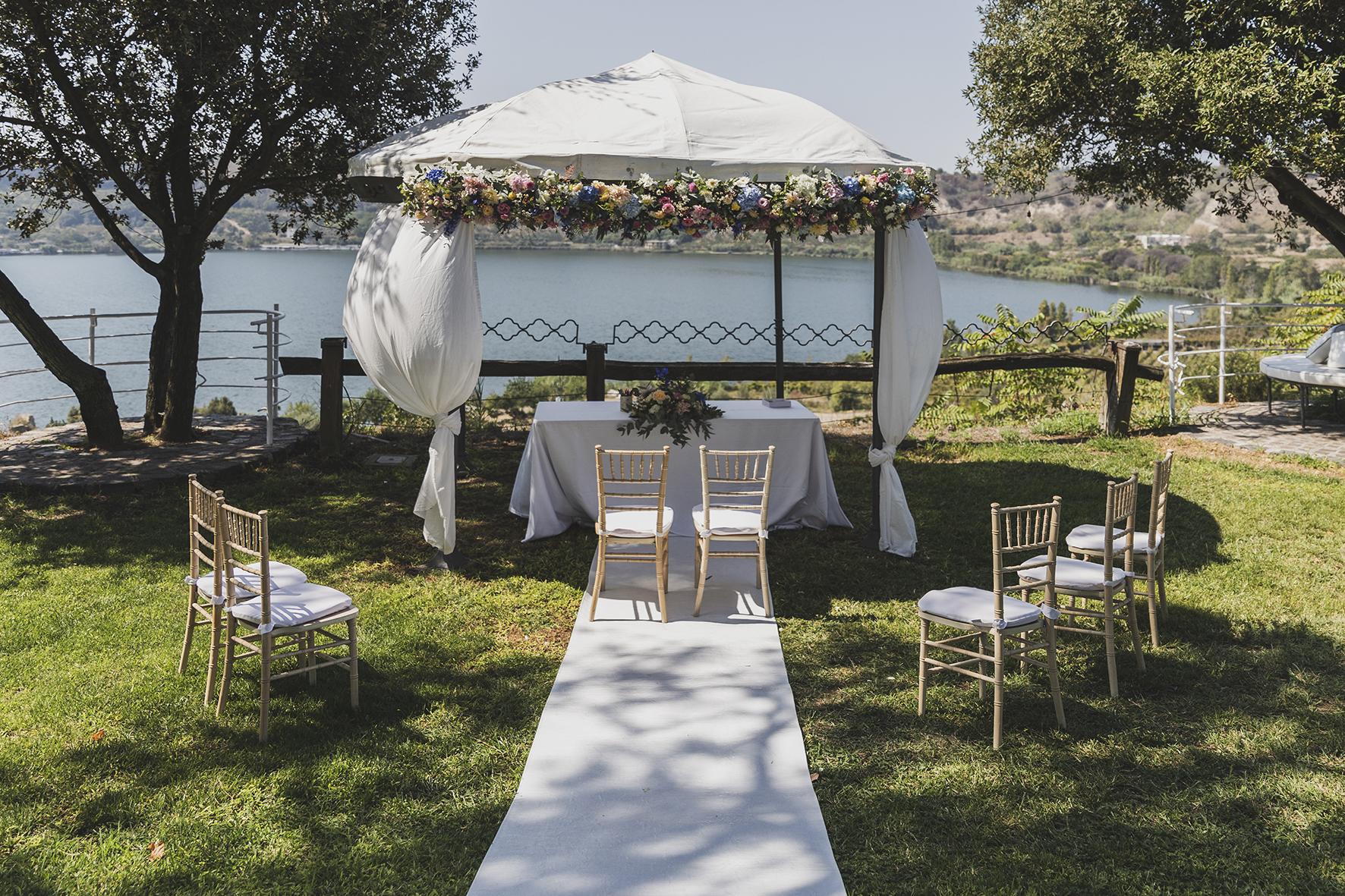 cerimonia simbolica matrimonio green