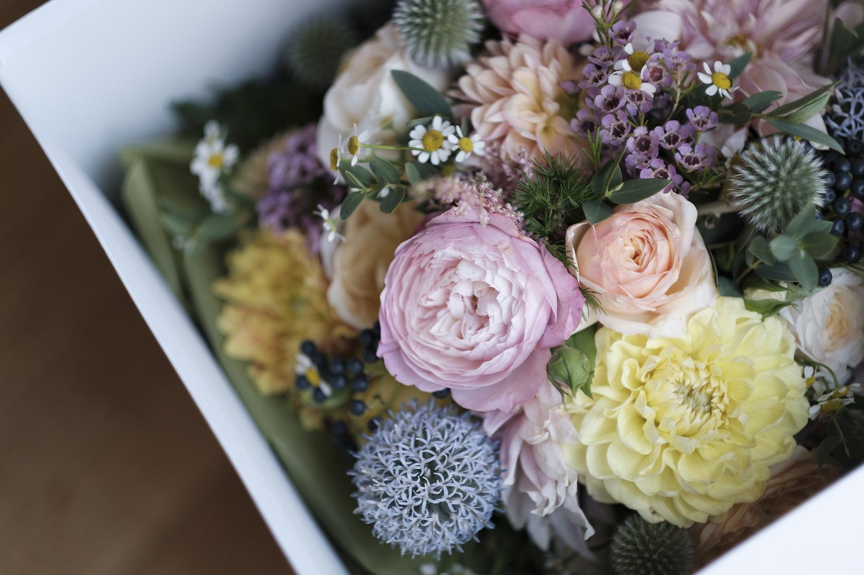 fiori di stagione matrimonio green