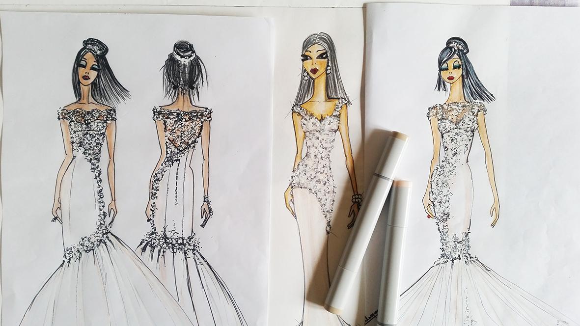Come scegliere l'abito da sposa? Intervista ad Angela Alfuso
